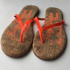 JUICY COUTURE Flip Flop/Thong Sandal 8.5